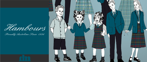 School uniforms designed by Hambours