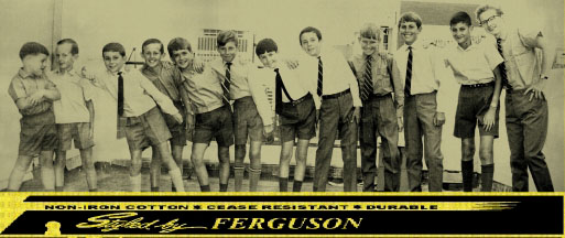 A historical advertisement for our Ferguson brand
